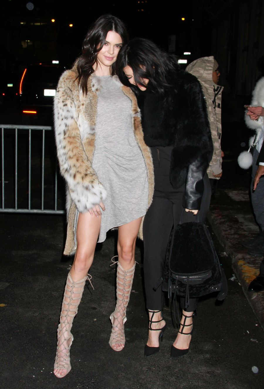 Kendall and Kylie Jenner at 2016 Collection Launch Party