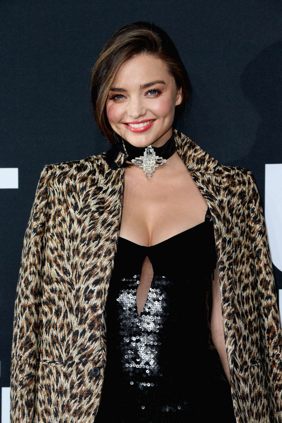 Miranda Kerr - Saint Laurent Show in Los Angeles