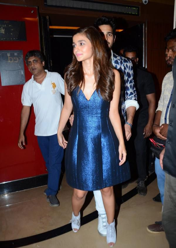 Alia Bhatt at Kapoor and Sons Film Trailer Launch