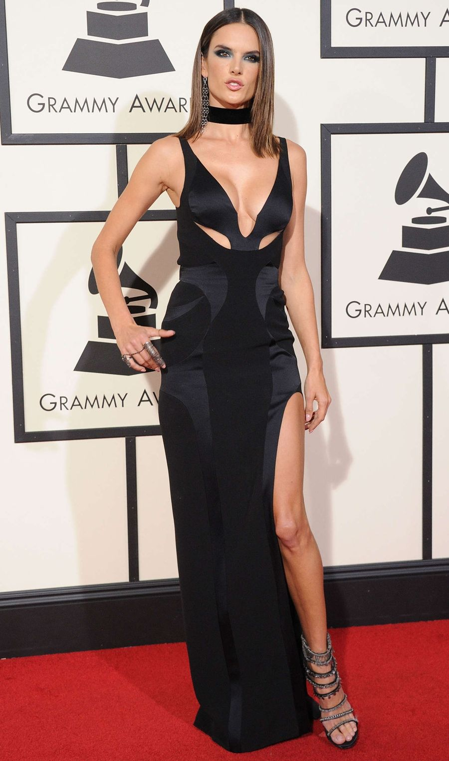 Alessandra Ambrosio - Annual GRAMMY Awards