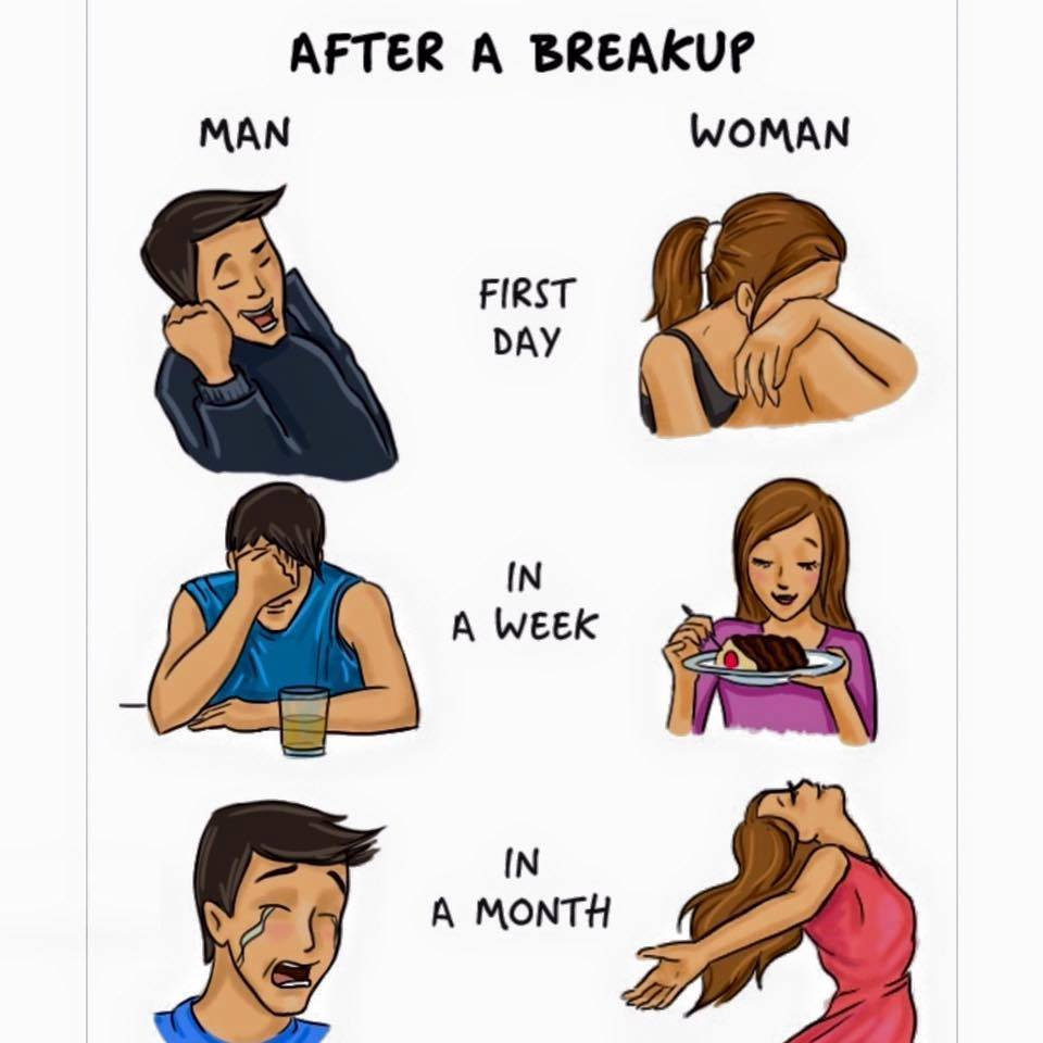 Difference in Males & Females - Cartoons