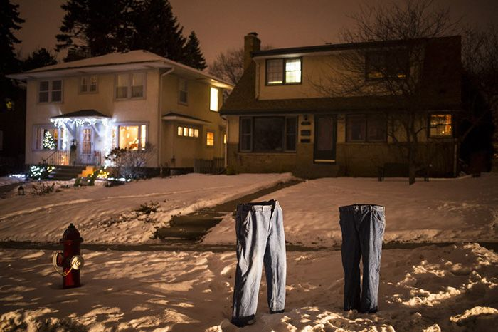 Minnesota Cold Made Ghosts Wear Pants