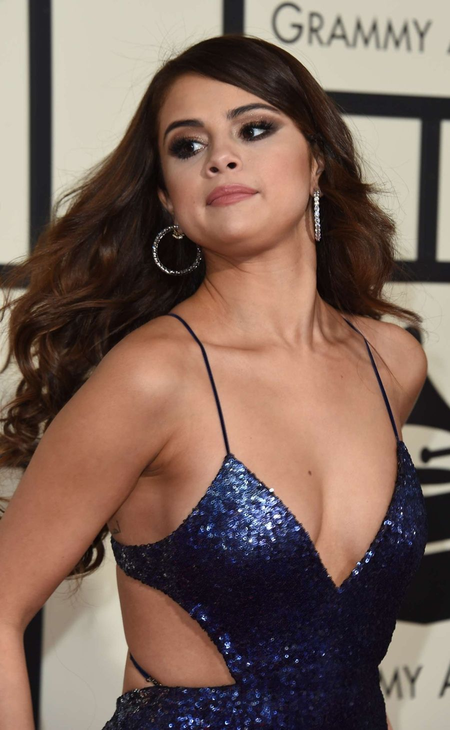 Selena Gomez - 58th Annual GRAMMY Awards in Los Angeles