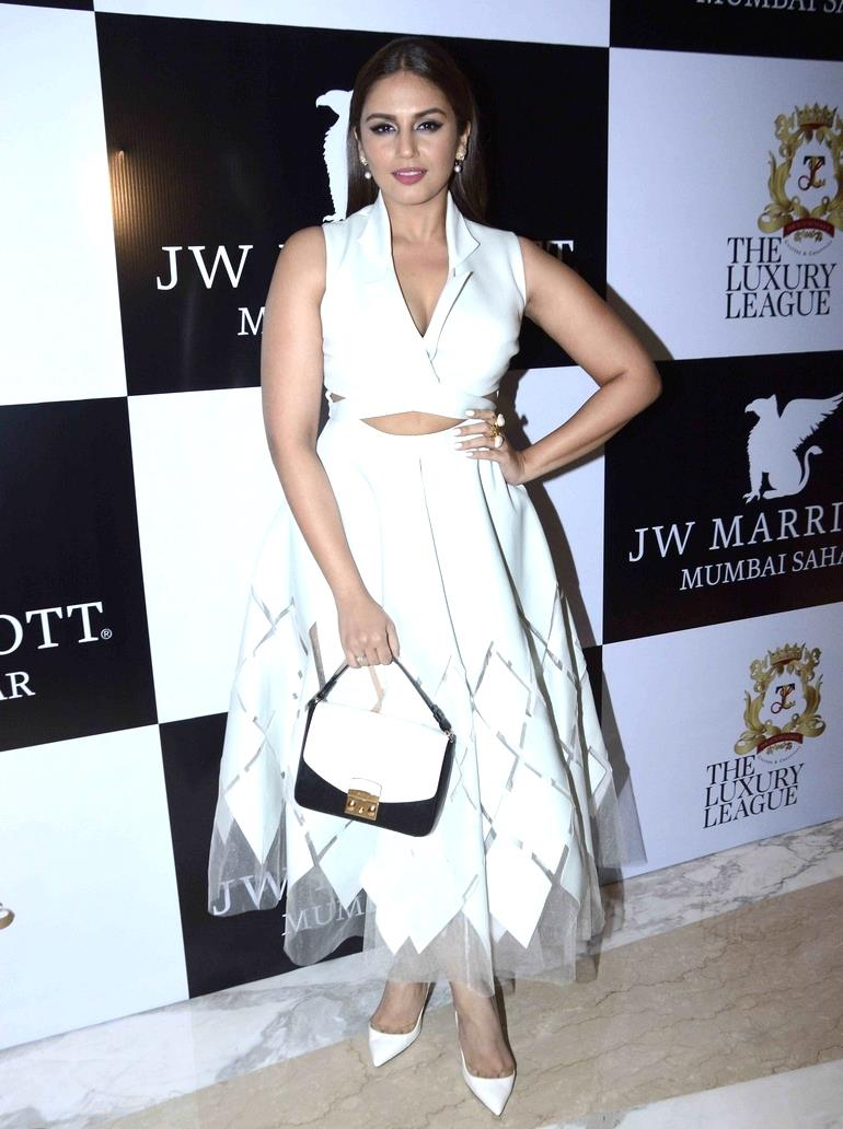 Huma Qureshi at Ritu Beri Fashion Party