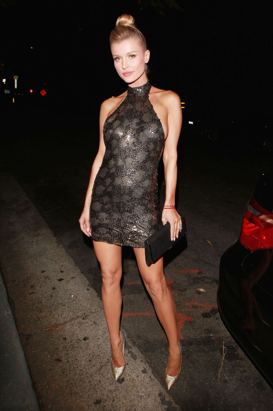 Joanna Krupa - Head to the CAA Party in Hollywood