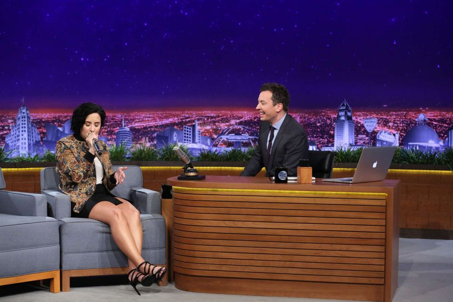 Demi Lovato - 'The Tonight Show Starring Jimmy Fallon'