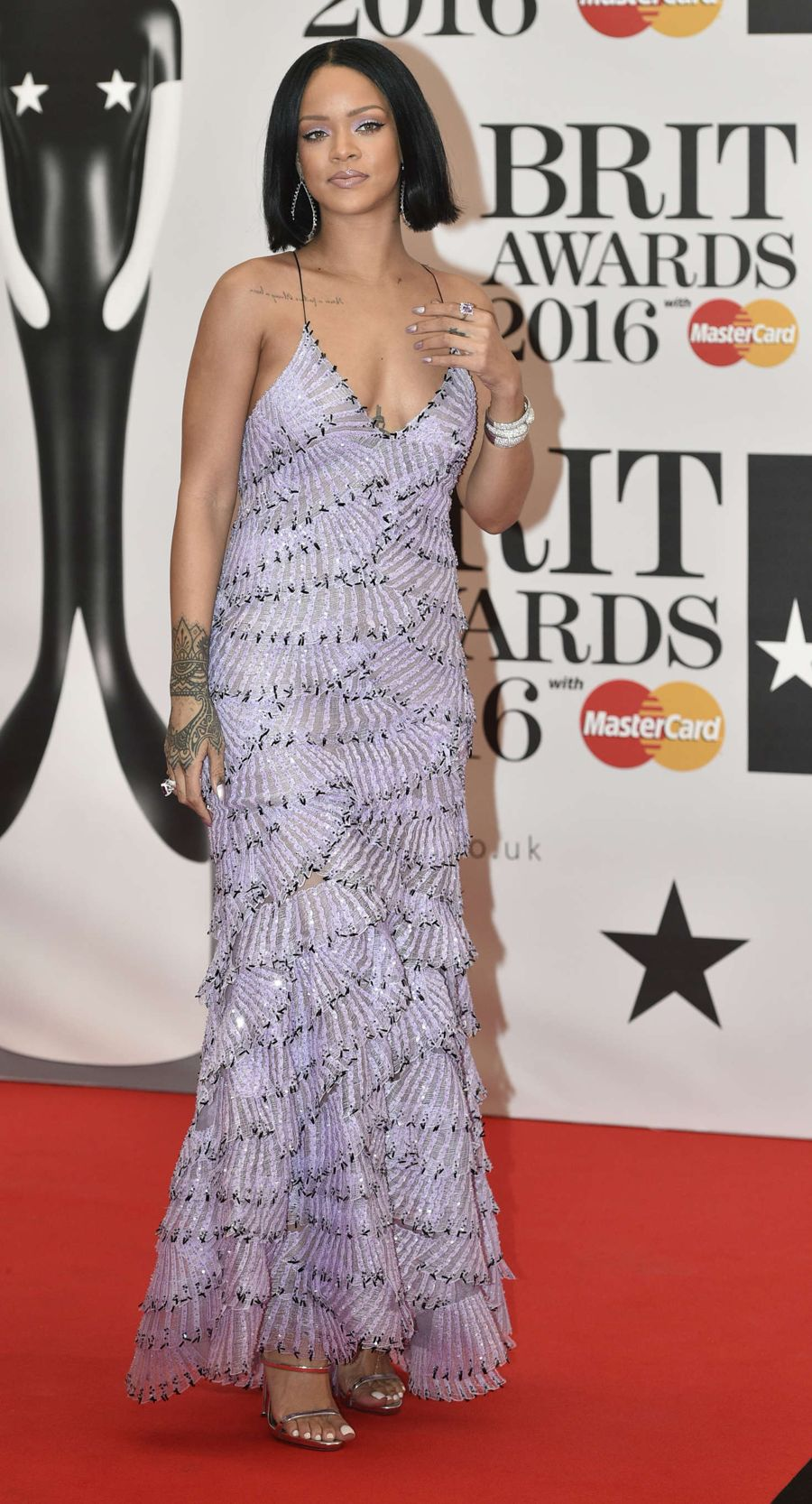 Rihanna - BRIT Awards 2016 in London