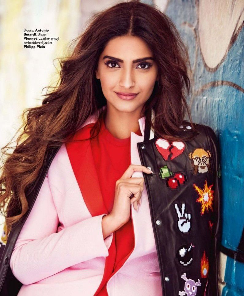 Sonam Kapoor looks vivacious on Vogue Magazine
