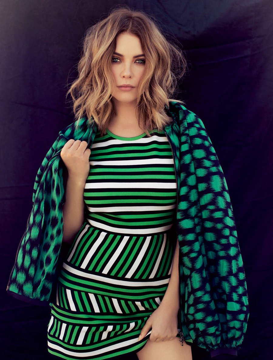 Ashley Benson - Ocean Drive Magazine (Jan 2016)