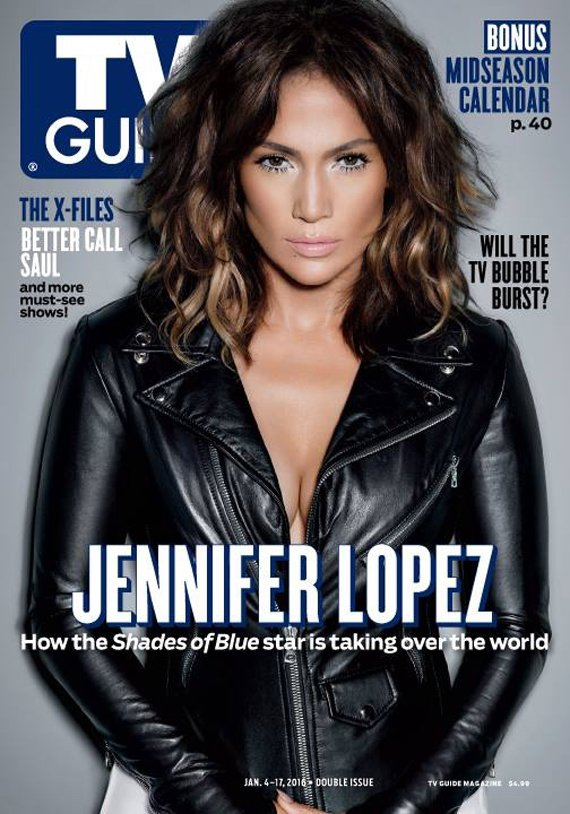 Jennifer Lopez - TV Guide Magazine (January 2016)