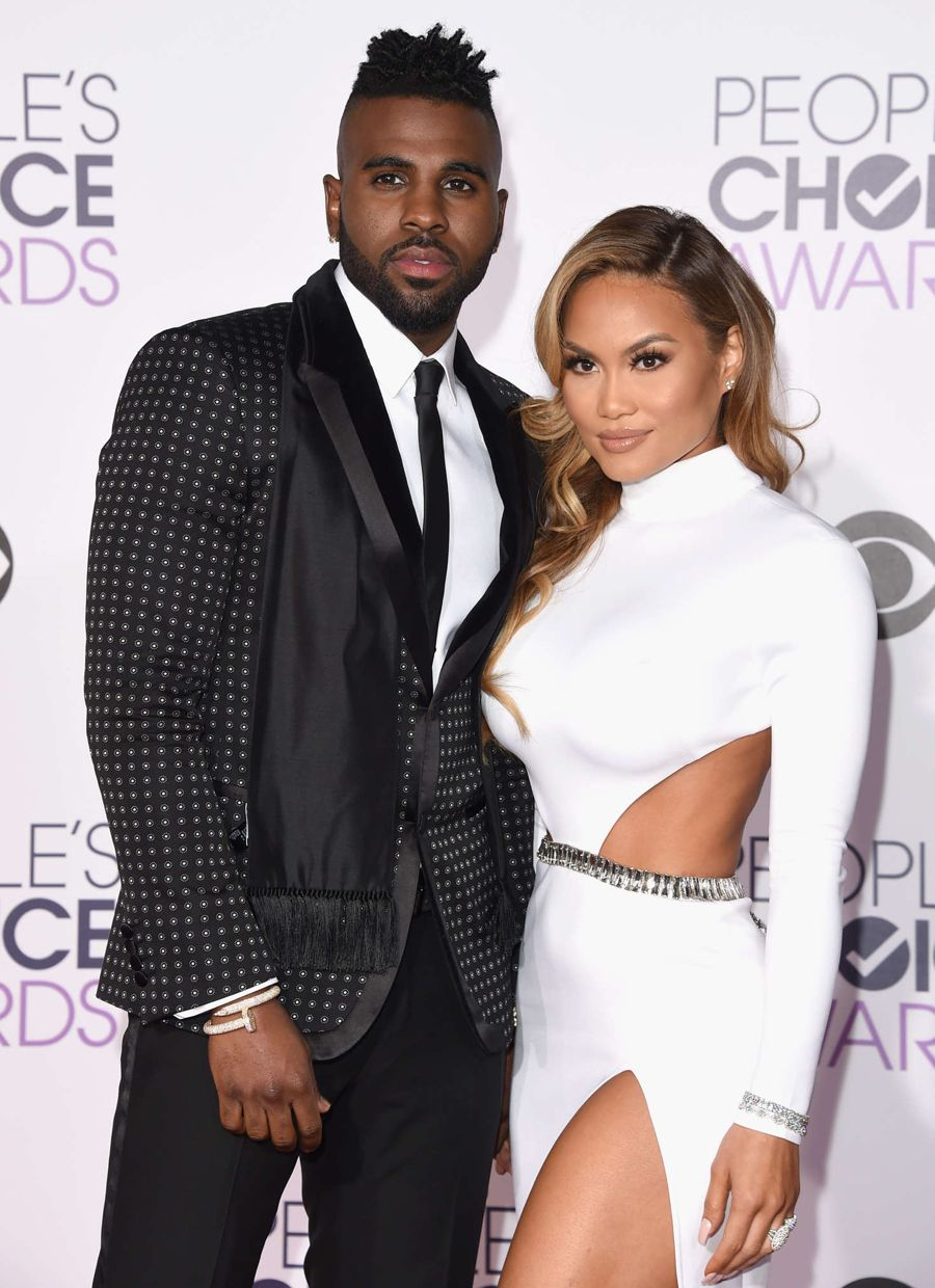 Jason Derulo with Daphne Joy at People's Choice Awards