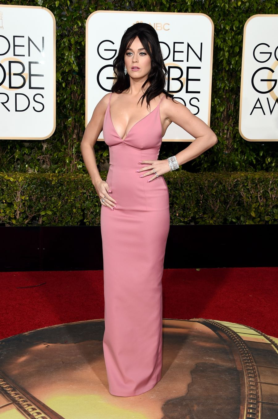 Katy Perry - 73rd Golden Globe Awards in Beverly Hills