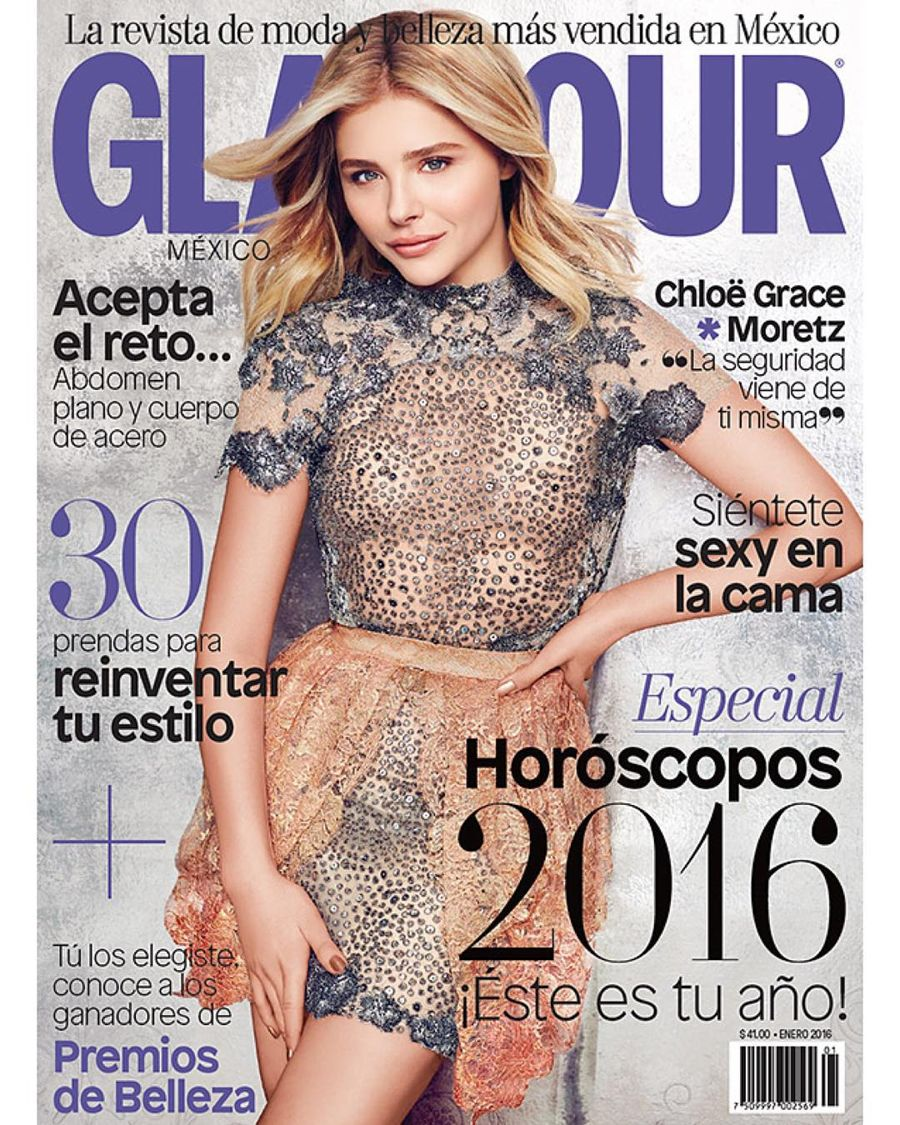 Chloe Moretz - Glamour Mexico (January 2016)