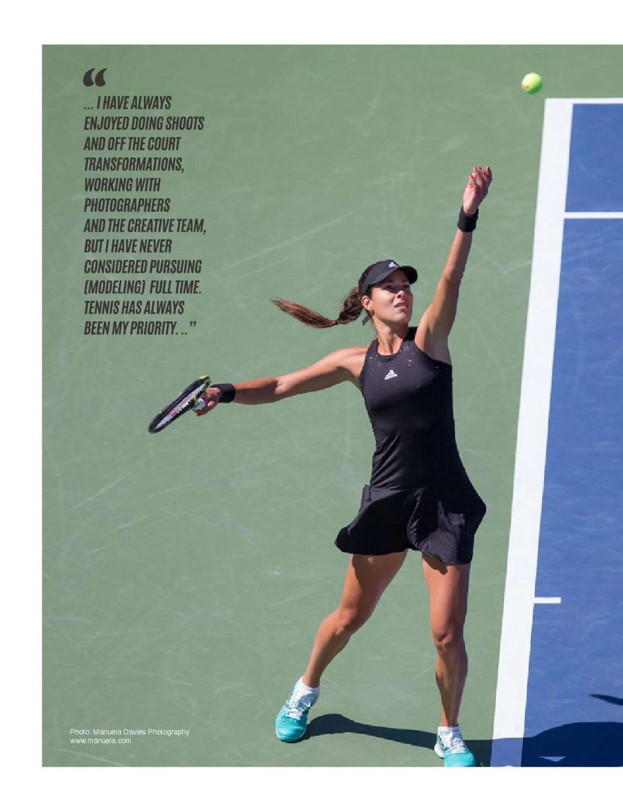 Ana Ivanovic - Most Magazine (January 2016)