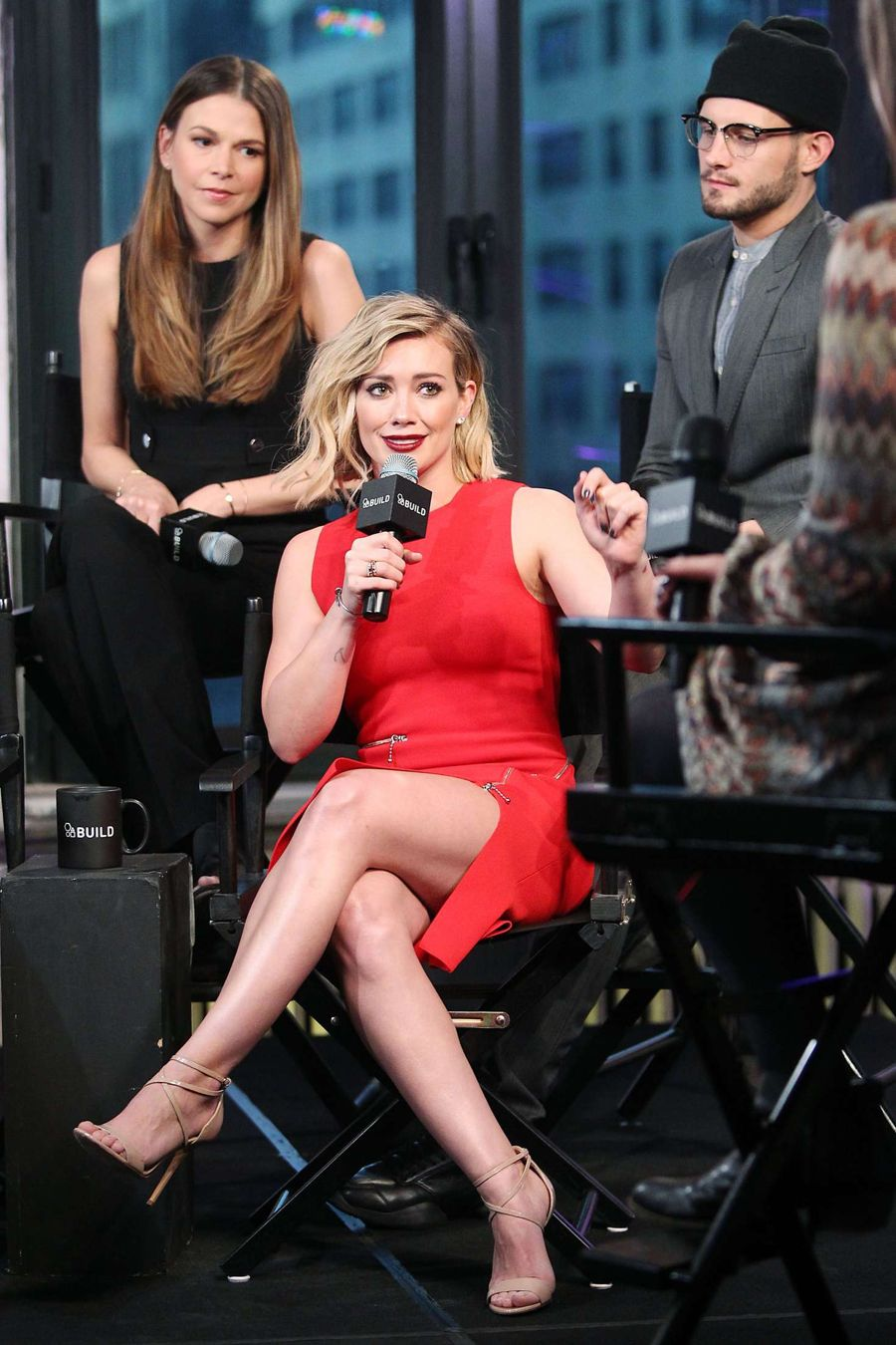 Hilary Duff - Attends AOL Build Speaker Series at AOL