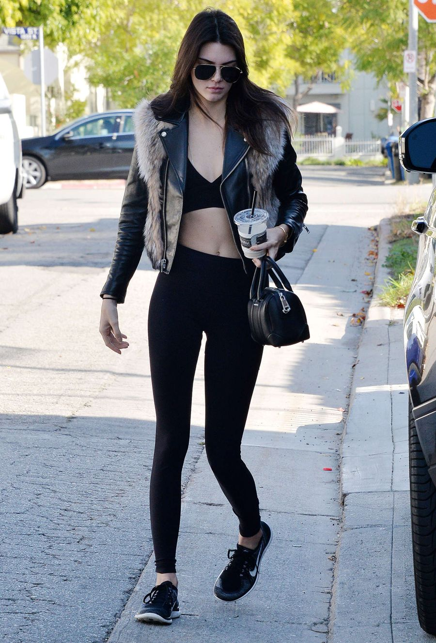 Kendall Jenner - Business in Front, Party in Back