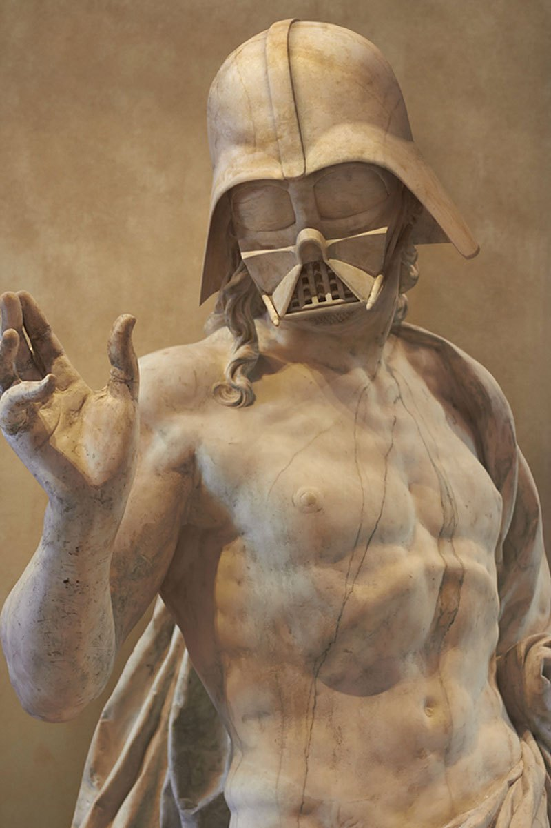 If Star Wars Characters Were Ancient Greek Statues