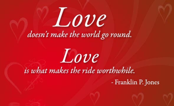Love Doesn't Make the World Go Around