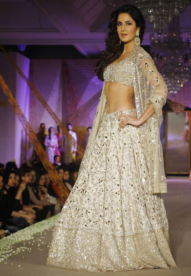 Katrina Kaif at Manish Malhotra's fashion show
