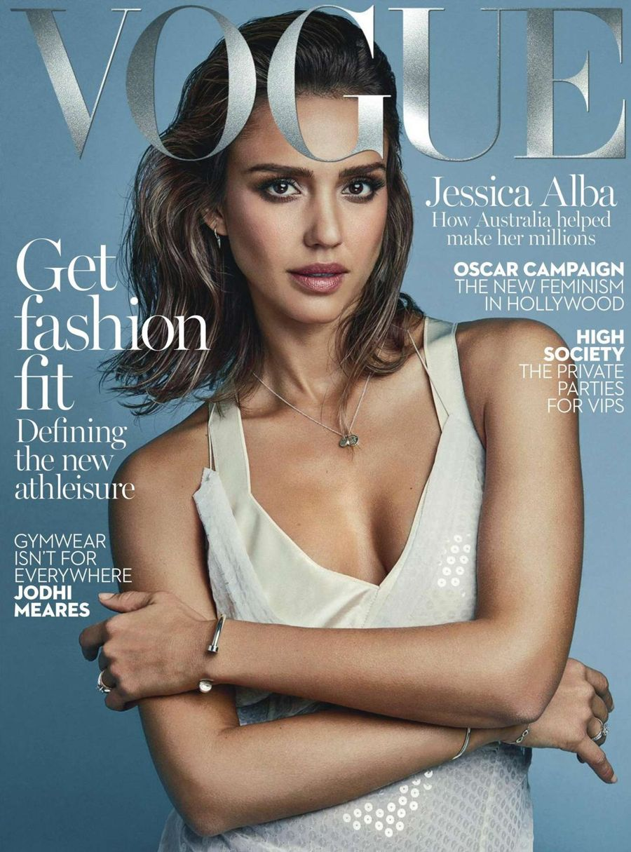Jessica Alba - Vogue Australia Magazine (Feb 2016)