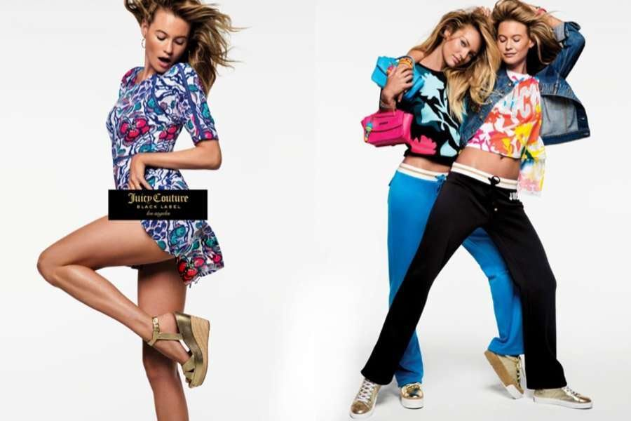 Candice Swanepoel and Behati Prinsloo Summer Campaign