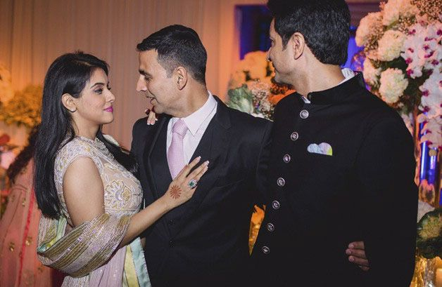 Asin and Rahul Sharma Wedding Reception Photos