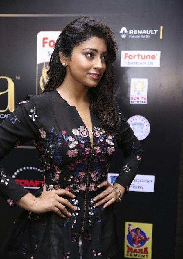 Shriya Saran at IIFA Utsavam Curtain Raiser