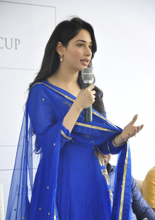 Tamanna at Cancer Crusaders Invitation Cup Press Meet
