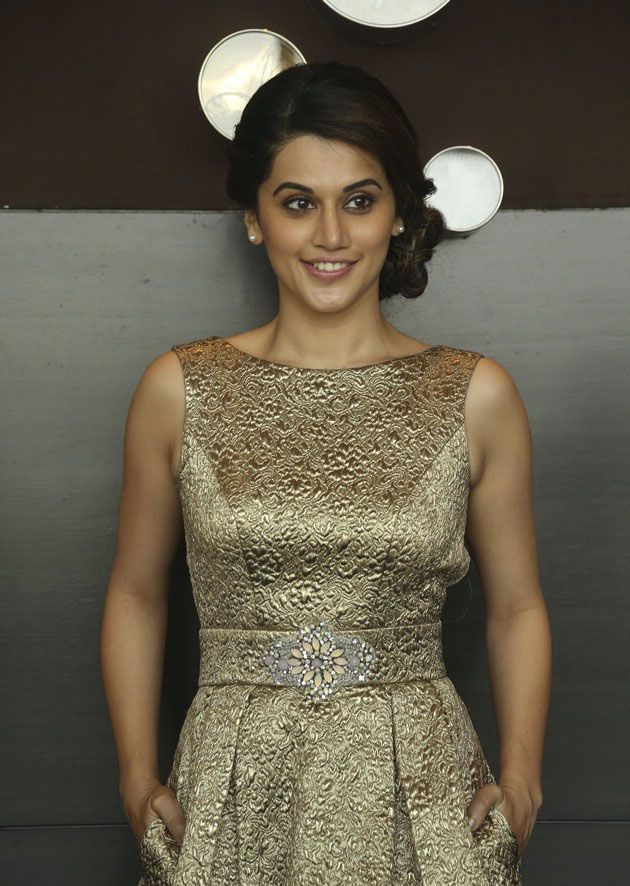 Tapsee at IIFA Utsavam Curtain Raiser
