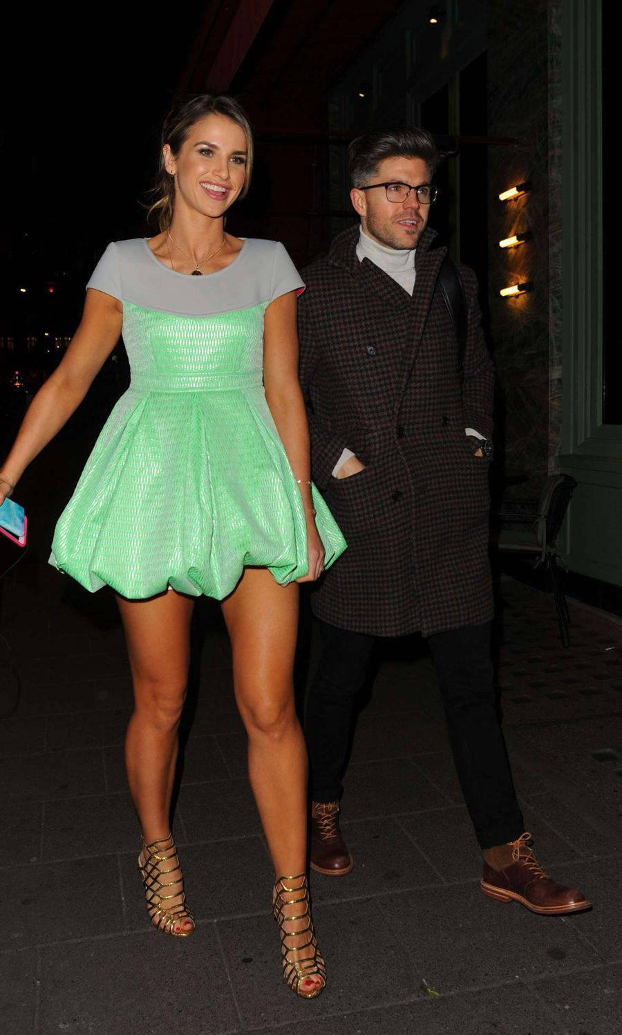 Vogue Williams at Private Dinner of Creme de la Mer