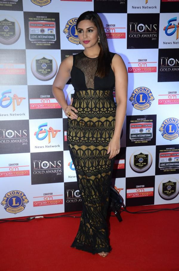 Huma Qureshi at Lions Awards 2016