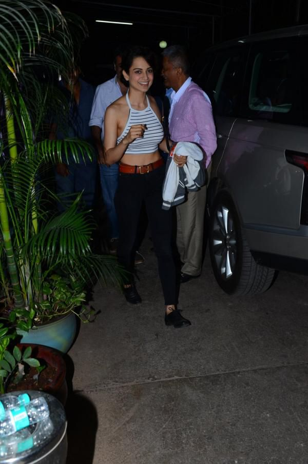 Kangana Ranaut attends the special screening of Saala Khadoo