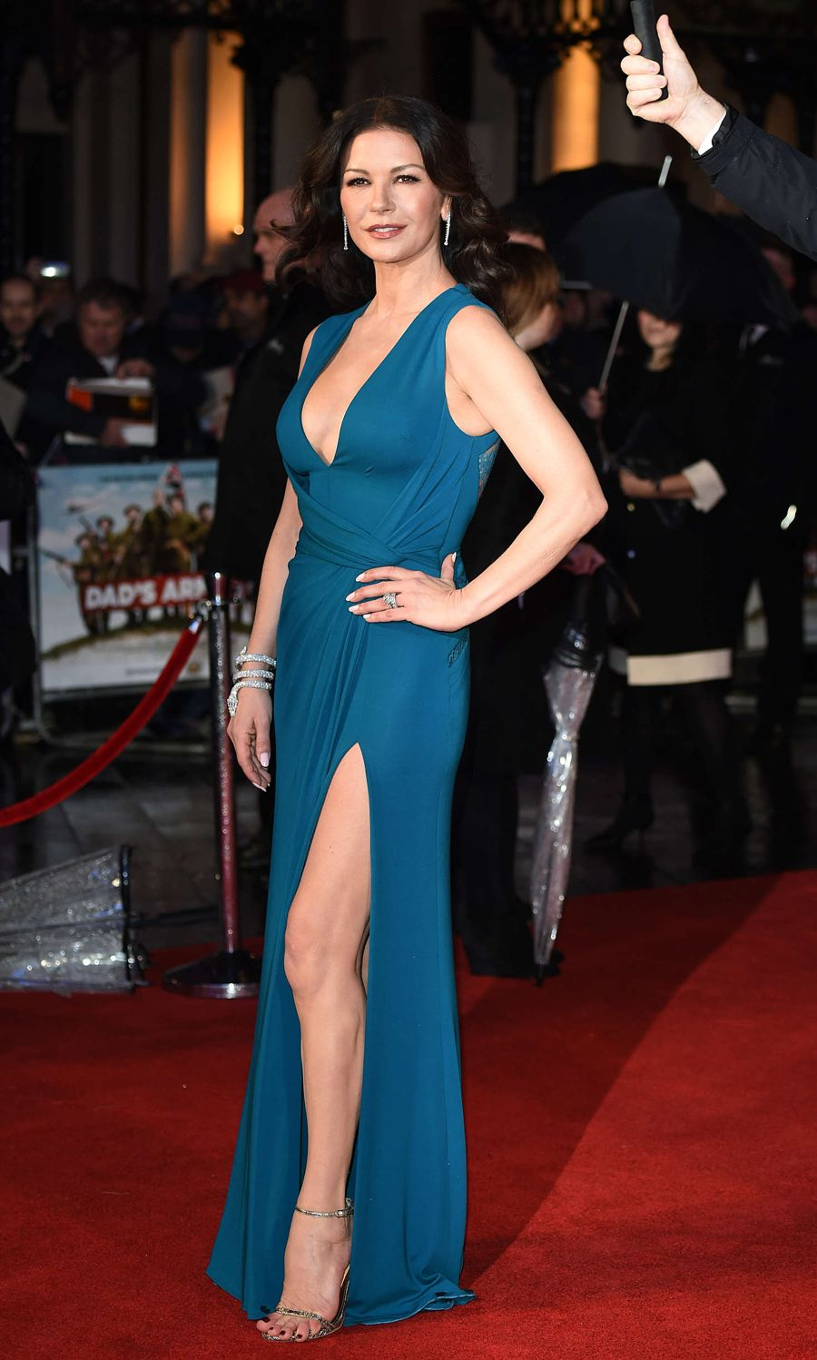 Catherine Zeta Jones - 'Dad's Army' Premiere in London