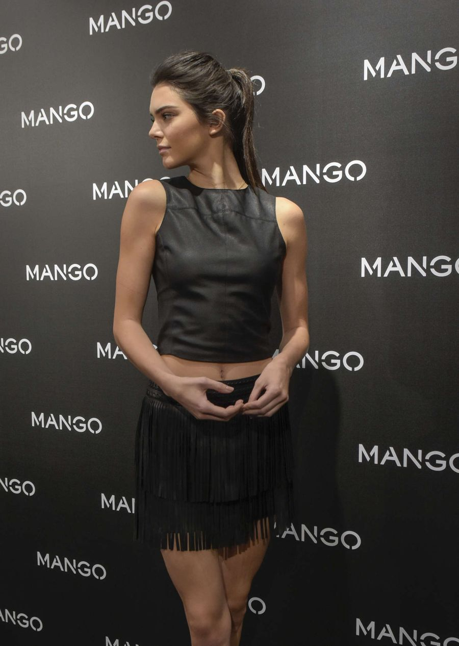Kendall Jenner - Tribal Spirit By Mango Photocall
