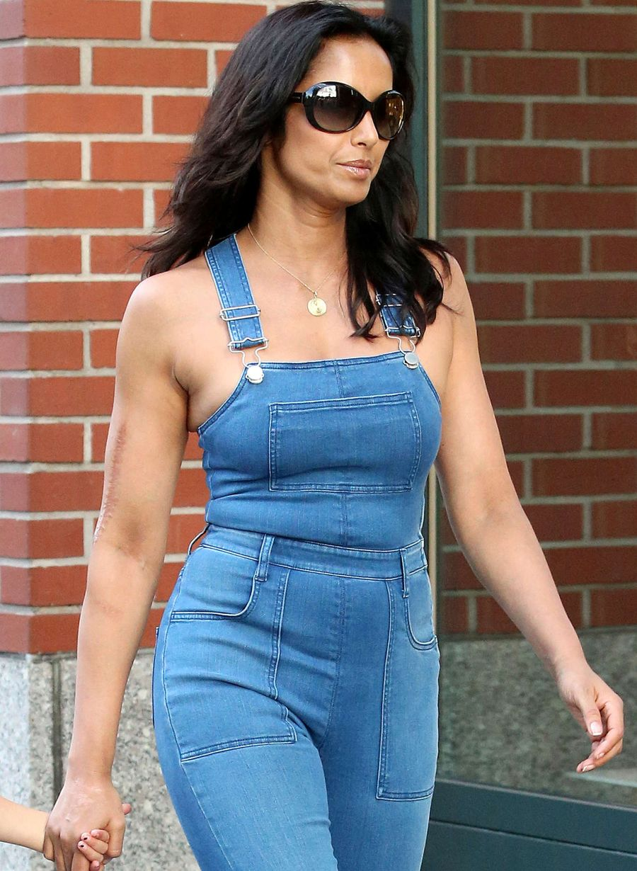 Padma Lakshmi's Interesting Take on Overalls