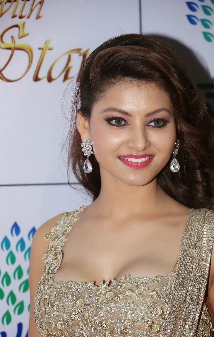 Urvashi Rautela Stills at at Memu Saitham Event