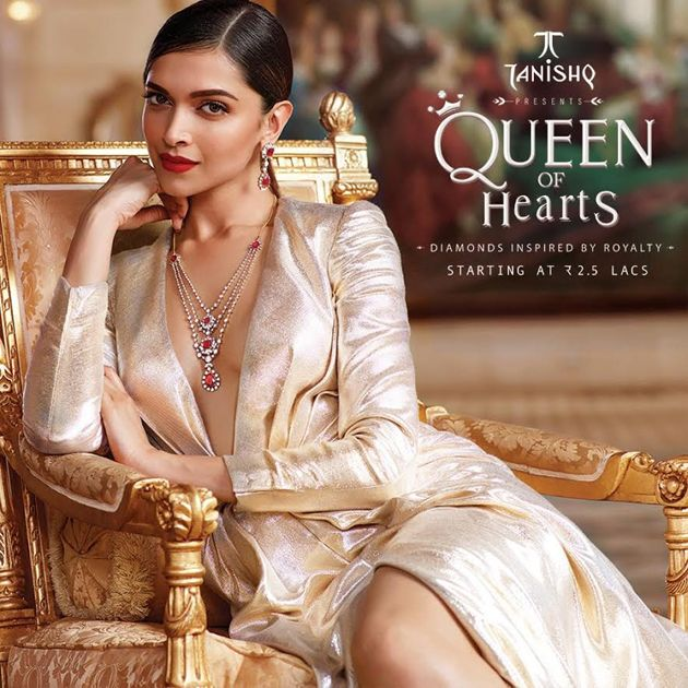 Deepika Padukone - Queen of Hearts Collection from Tanishq