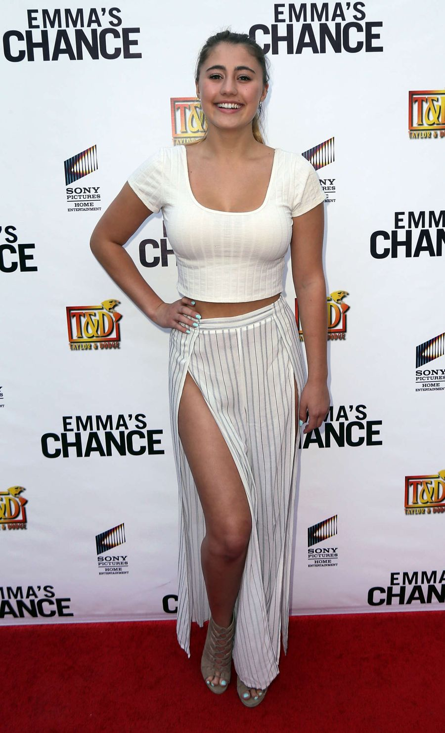 Lia Marie Johnson - 'Emma's Chance' Premiere