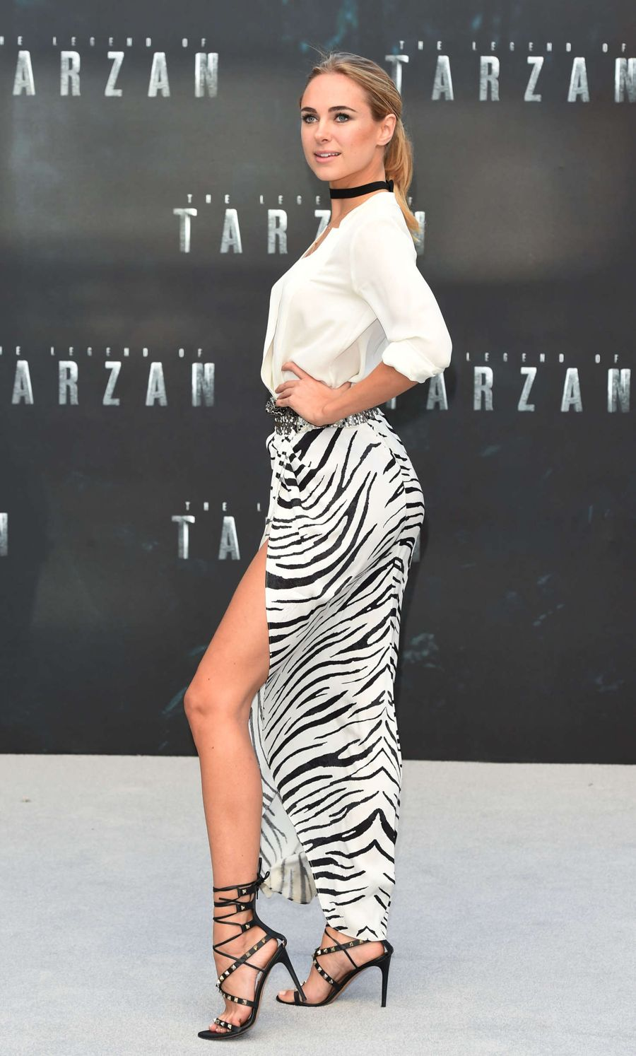 Kimberley Garner 'The Legend Of Tarzan' Premiere