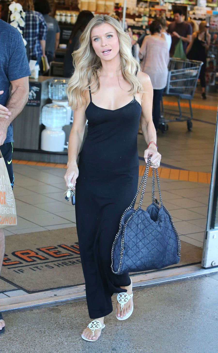 Joanna Krupa Shopping at Erewhon in Hollywood