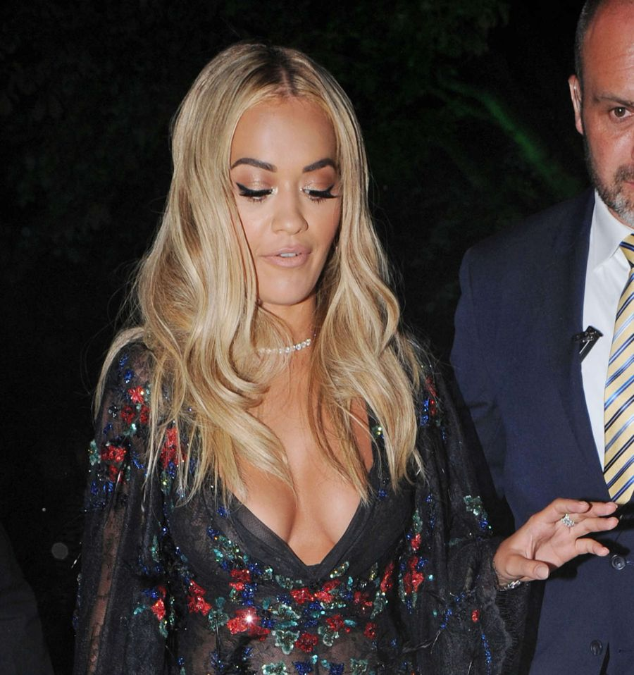 Rita Ora - Warner Music Group Summer Party in London