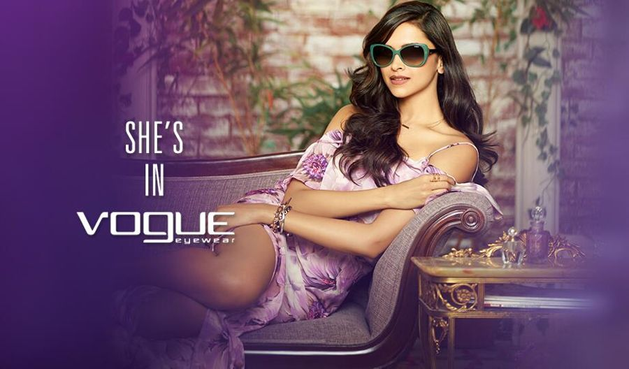 Deepika brings summer alive in Vogue Eyewear campaign
