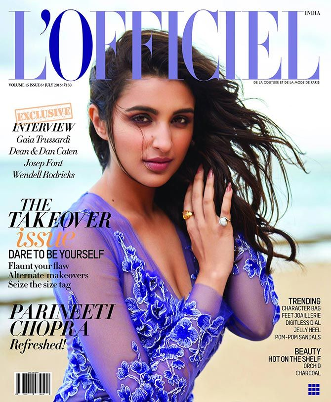Who's the hottest July cover girl?