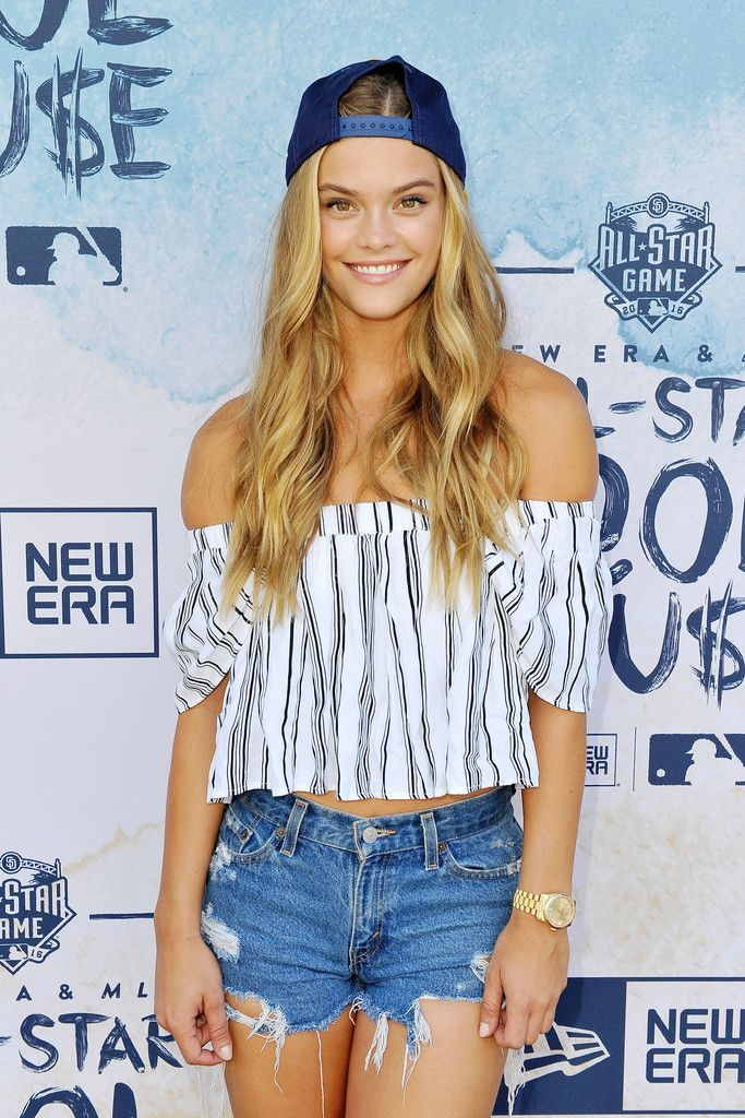 Nina Agdal - New Era Pool House at MLB All-Star Week