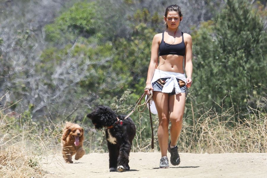 Danielle Campbell - Hiking with Dogs in Griffith Park