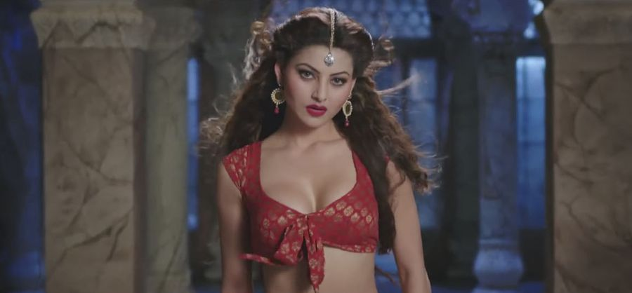 Urvashi Rautela Cries at Press Conference