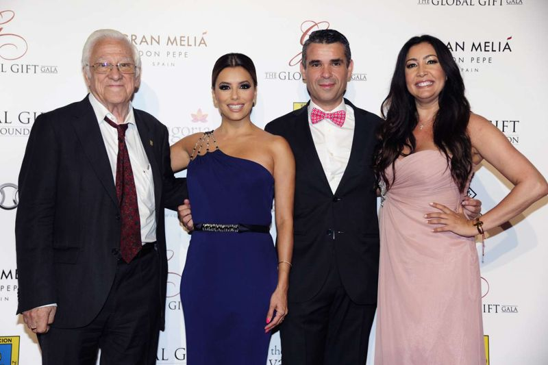 Eva Longoria Global Gift Gala 2016 in Marbella