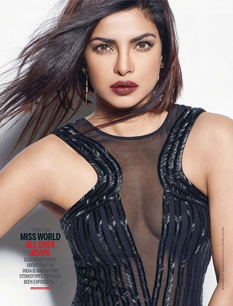 Baywatch Star Priyanka Chopra Femina Magazine August 2016
