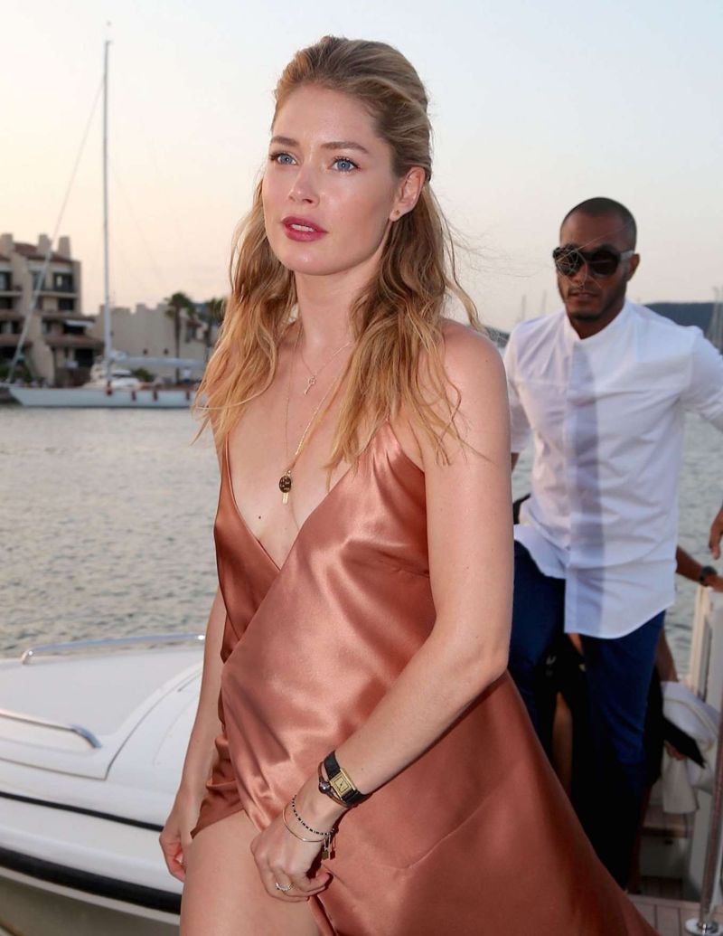 Doutzen Kroes at Leonardo DiCaprio Foundation Party 2016