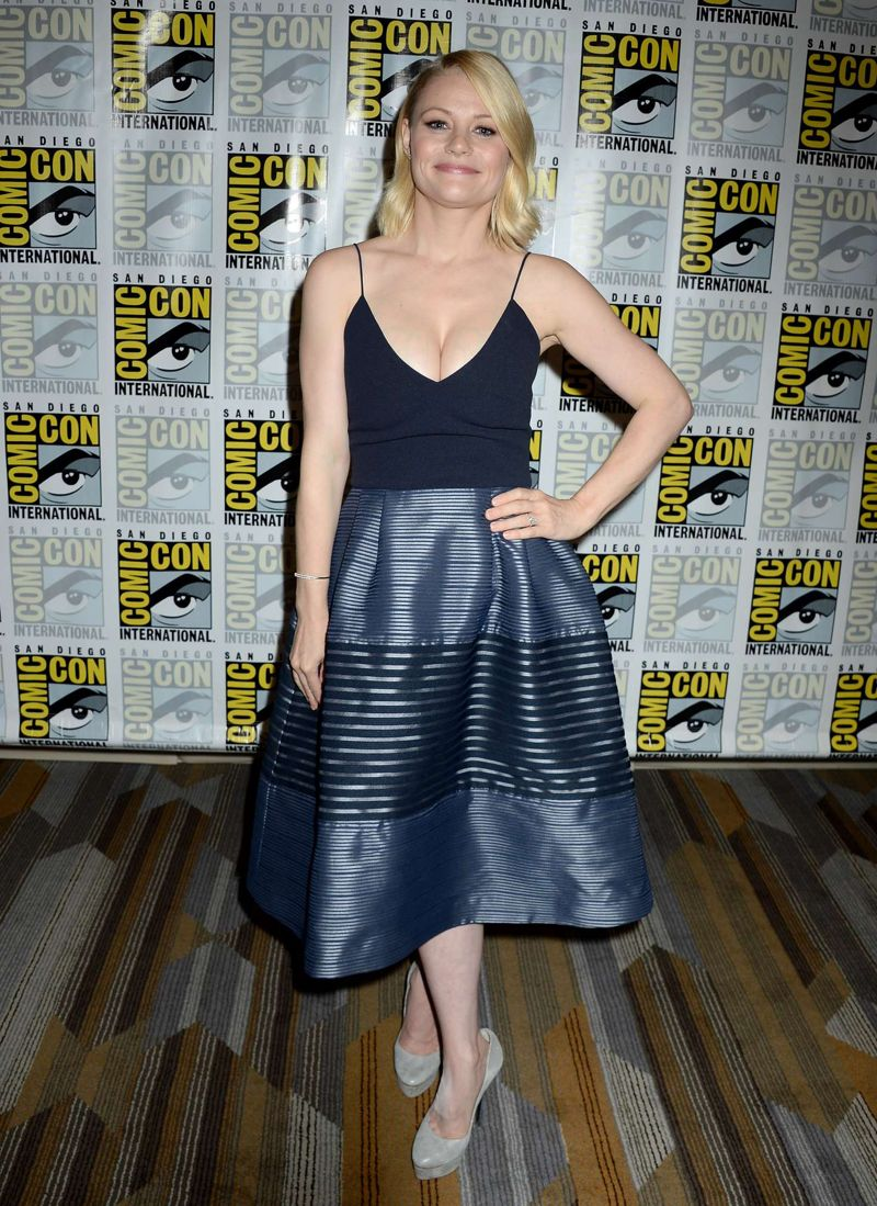 Emilie de Ravin Once Upon A Time Press Line at Comic-Con